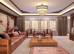 中式风格家装案例图