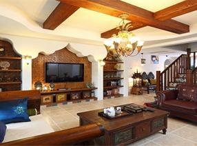 异域巴厘岛风情的朱雀门复室设计